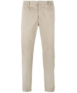 Paolo Pecora | Regular Trousers 52 Cotton/Spandex/Elastane