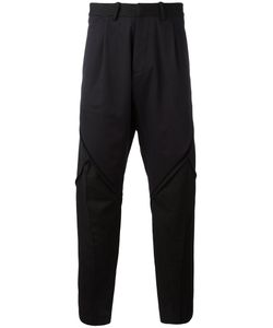 ABASI ROSBOROUGH | Striped Panel Trousers Size