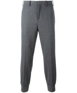 Neil Barrett | Gathe Ankle Tailo Trousers 44 Cotton/Viscose/Polyester/Virgin