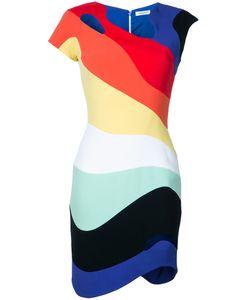 Mugler | Облегающее Платье Rainbow Wave