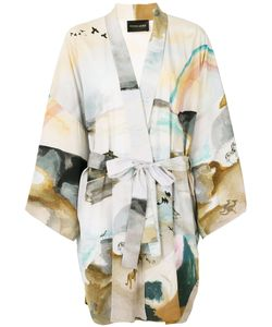Stine Goya | Watercolour Print Kimono Jacket Women