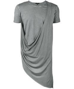 Unconditional | Asymmetric Draped Double Front T-Shirt