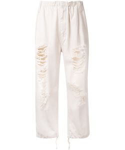 Ikumi | Distressed Trousers Size Large