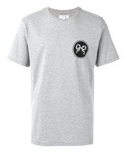 Soulland   Ribbon Print T-Shirt Medium Cotton