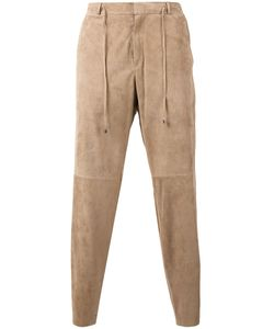 DESA | 1972 Panelled Cropped Trousers 50 Suede