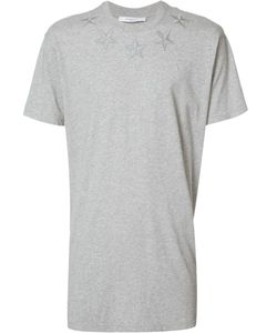 Givenchy   Star Embroide Columbian-Fit T-Shirt Xxs Cotton/Polyester