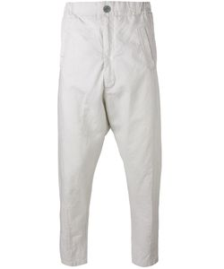 10Sei0Otto | Cropped Tapered Trousers Small