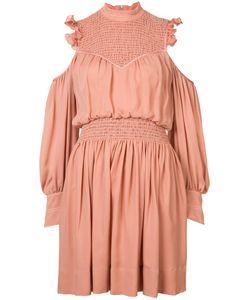 Cinq A Sept | Платье Со Складками С Вырезами На Плечах