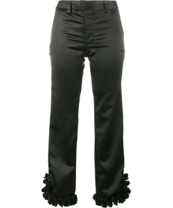 Jour/Né | Ruffled Hem Cropped Trousers 36 Polyester/Spandex/Elastane