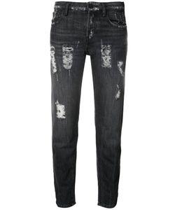 Etienne Marcel | Paint Detail Jeans 25 Cotton/Spandex/Elastane