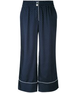 Erika Cavallini | Polka Dot Cropped Trousers