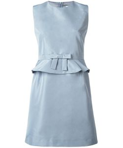 Red Valentino | Bow Detail Dress 40 Polyester/Acetate