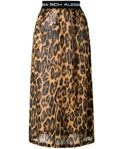 Alessandra Rich | Leopard Print Skirt Size 40