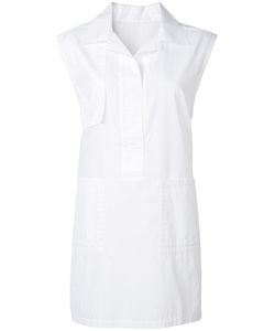Victor Alfaro | Elongated Sleeveless Shirt 10 Cotton