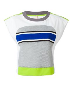 No Ka 'Oi | No Ka Oi Neon Detail Cropped T-Shirt Small