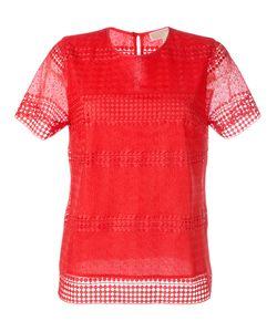 Michael Michael Kors | Patterned Panel T-Shirt Large