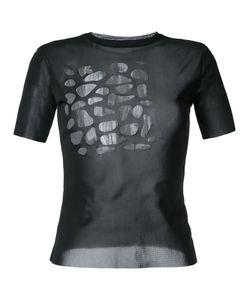 Kotohayokozawa | Sheer Scale T-Shirt Size Small