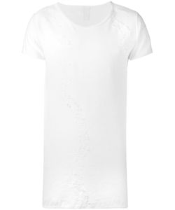 10Sei0Otto | Frayed Detail T-Shirt Medium