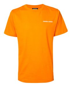 Andrea Crews   Logo Chest Print T-Shirt