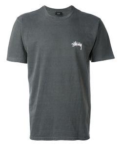 Stussy | Футболка С Принтом-Логотипом На Спине
