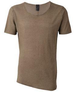 10Sei0Otto | Round Neck T-Shirt Medium Cotton