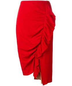 Erika Cavallini | Draped Skirt 40 Acetate/Viscose/Silk