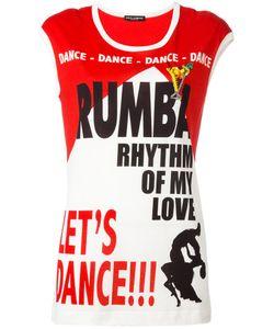 Dolce & Gabbana   Футболка Lets Dance