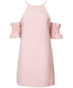 C/MEO | Приталенное Платье Со Сборкой На Рукавах