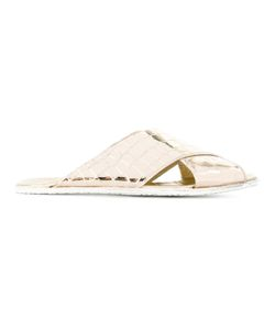 Rocco P. | Rocco P. Crossed Flip Flops Size 39