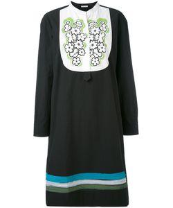 Tomas Maier | Платье С Вышивкой На Нагруднике