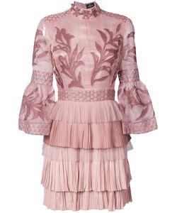 J. Mendel   Платье Мини С Вышивкой