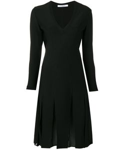 Givenchy | Pleated Skirt V-Neck Dress