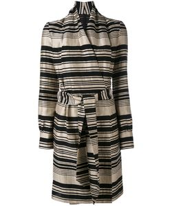 Gareth Pugh | Striped Belted Dress