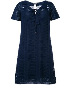 Twin-set | Crochet Mini-Dress Medium Viscose/Polyamide