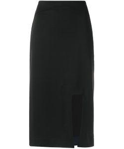 GLORIA COELHO | Front Slit Skirt