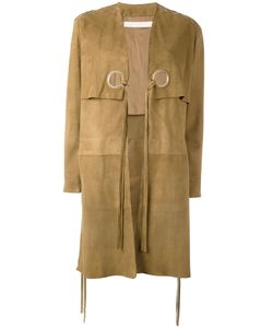 Drome | Strings Trim Coat Medium Goat Skin/Acetate/Cupro