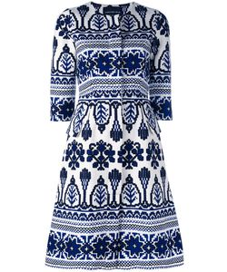 Samantha Sung | Printed Flared Dress