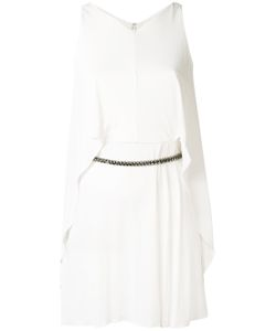 Versace Collection | Sleeveless Chain Belt Dress