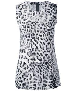Norma Kamali   Leopard Print Tank Top