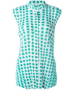 PLEATS PLEASE BY ISSEY MIYAKE | Плиссированная Рубашка С Принтом