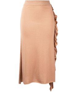 RYAN ROCHE | Ruffle A-Line Skirt