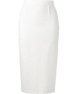 Roland Mouret | Arreton Pencil Skirt 8 Viscose/Acetate/Spandex/Elastane