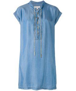 Michael Kors   Lace-Up Shift Dress