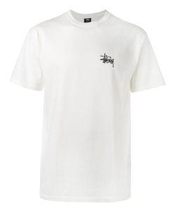 Stussy | Футболка С Принтом Логотипа