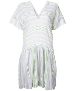 Lemlem | Fla Trim Striped Dress Large Cotton/Acrylic
