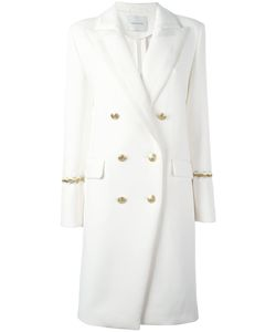 Pierre Balmain | Double Breasted Coat 36 Cotton/Polyester