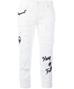 Dsquared2 | Glam Head Embroidered Jeans