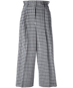 Sonia Rykiel | Checked Loose-Fit Trousers