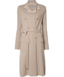 Maiyet | Double Breasted Knit Trenchcoat Large Cashmere