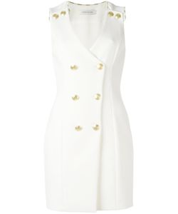 Pierre Balmain | Double Breasted Dress 38 Viscose/Polyamide/Spandex/Elastane